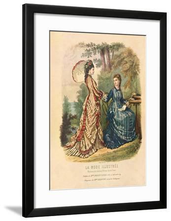 La Mode Illustrée II-Dubois-Framed Art Print