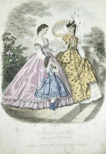 La mode illustrée : Toilettes de madame Castel Bréant
