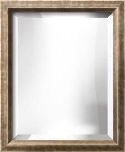 LA MODE Silver Wide Mirror