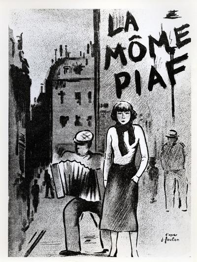 'La Mome Piaf', C.1950--Photographic Print