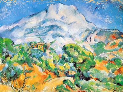 La Montagne St. Victoire-Paul C?zanne-Art Print