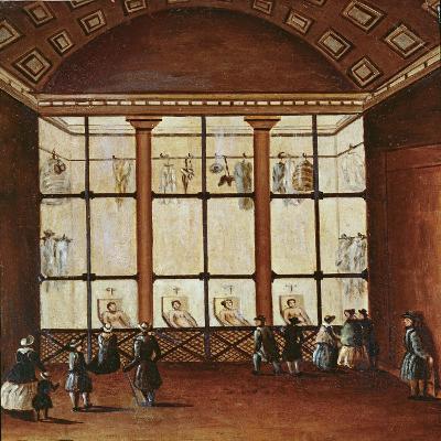La Morgue', Largest Morgue in Paris, 1830-40--Giclee Print