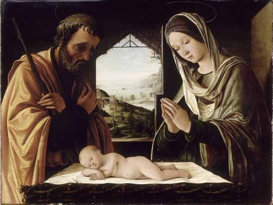 La Nativité-Lorenzo Costa-Giclee Print
