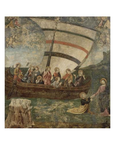 """La """"Navicella"""", d'après Giotto-Giotto di Bondone-Giclee Print"""