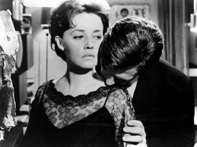 La Notte, Jeanne Moreau, Marcello Mastroianni, 1961--Photo
