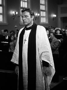 La Nuit by l'iguane THE NIGHT OF THE IGUANA by John Huston with Richard Burton, 1964 (b/w photo)
