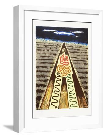 La Nuit de Saint Jean de Luz-Man Ray-Framed Limited Edition