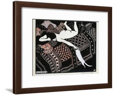 La Paresse, 1896-F?lix Vallotton-Framed Giclee Print