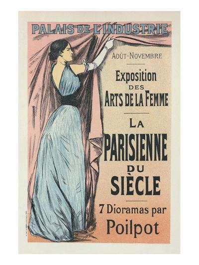 La Parisienne du Siècle-Jean-Louis Forain-Art Print
