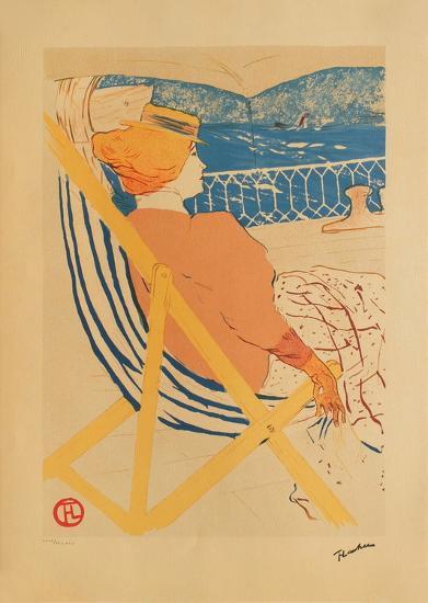 La passag?re du 54 I-Henri de Toulouse-Lautrec-Collectable Print