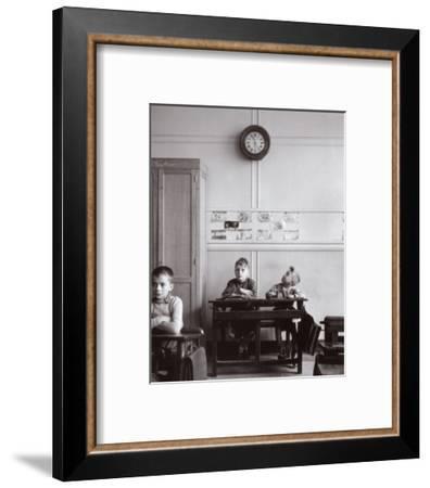 La Pendule, Paris, c.1957-Robert Doisneau-Framed Art Print
