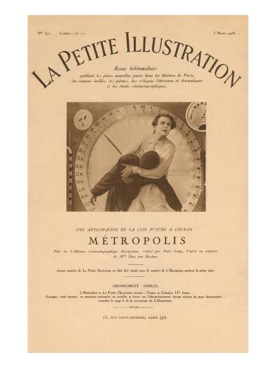 La Petit Illustration - Metropolis--Art Print