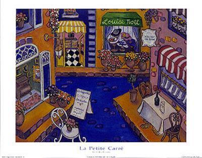 La Petite Carre-Holly Wojahn-Art Print