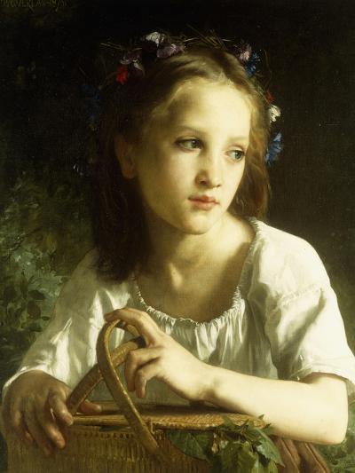 La Petite Ophelie, 1875-William Adolphe Bouguereau-Giclee Print
