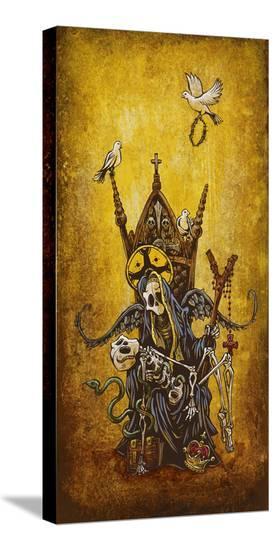 La Pieta-David Lozeau-Stretched Canvas Print