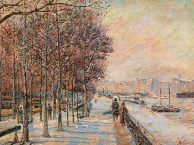 La Place Valhubert-Jean-Baptiste-Armand Guillaumin-Giclee Print