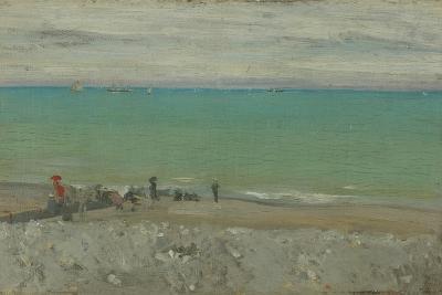 La Plage, Dieppe, C.1885-Walter Richard Sickert-Giclee Print
