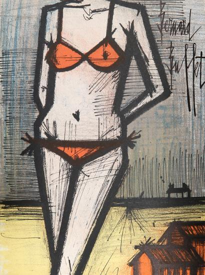 Awesome La Plage Collectable Print By Bernard Buffet Art Com Download Free Architecture Designs Salvmadebymaigaardcom