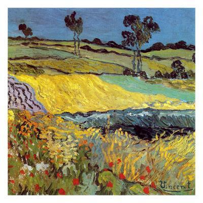 La Plaine D'Auvers-Vincent van Gogh-Art Print