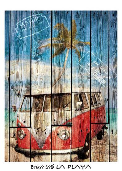 La Playa-Bresso Sola-Art Print
