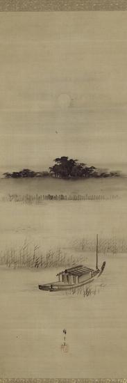 La pleine lune ? Mimeguri-Ando Hiroshige-Giclee Print