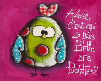 La plus belle ...-Carine Mougin-Art Print