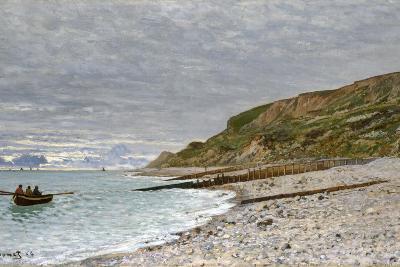 La Pointe De La Hève, Sainte-Adresse, 1864-Claude Monet-Giclee Print
