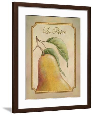 La Poire-Delphine Corbin-Framed Art Print