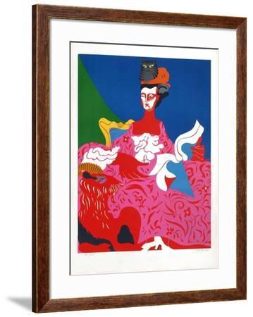 La Pompadour I-Nicolas Uriburu-Framed Collectable Print