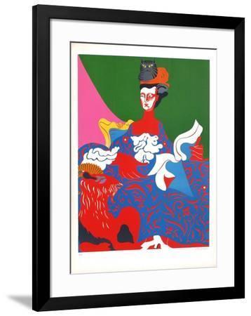 La Pompadour II-Nicolas Uriburu-Framed Limited Edition