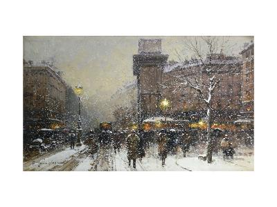 La Porte St. Martin, Paris-Eugene Galien-Laloue-Giclee Print