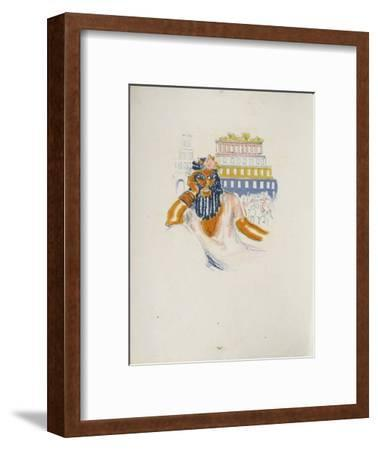 La Princesse de Babylone 02 (Essai 6)-Kees van Dongen-Framed Premium Edition