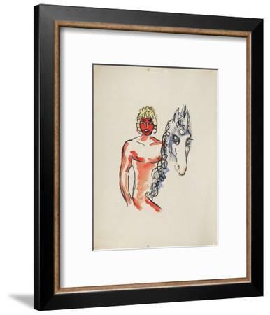 La Princesse de Babylone 03 (Essai 1)-Kees van Dongen-Framed Premium Edition