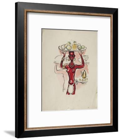 La Princesse de Babylone 07 (Essai 3)-Kees van Dongen-Framed Premium Edition
