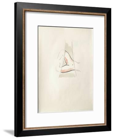 La Princesse de Babylone 10 (Suite couleur)-Kees van Dongen-Framed Premium Edition