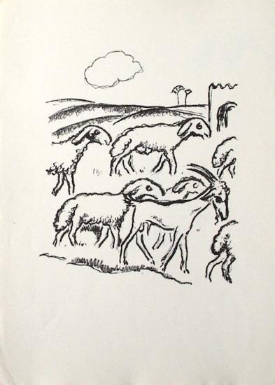 La Princesse de Babylone 11 (Suite NB)-Kees van Dongen-Collectable Print