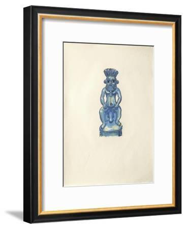 La Princesse de Babylone 16 (Suite couleur)-Kees van Dongen-Framed Premium Edition