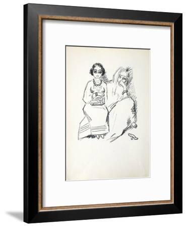La Princesse de Babylone 19 (Suite NB)-Kees van Dongen-Framed Premium Edition