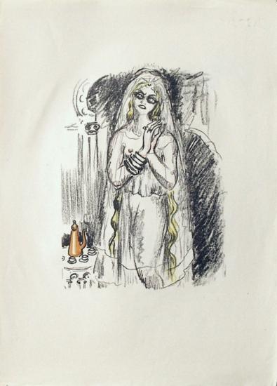 La Princesse de Babylone 21 (Suite couleur)-Kees van Dongen-Premium Edition