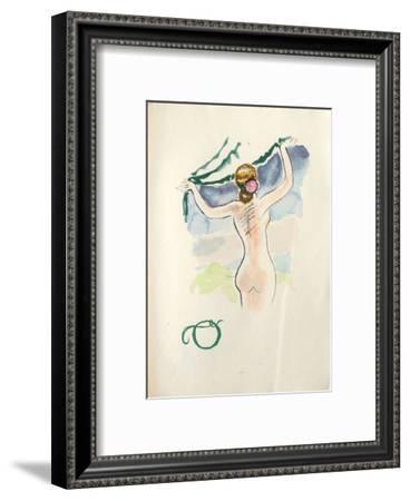 La Princesse de Babylone 47 (Suite couleur)-Kees van Dongen-Framed Premium Edition