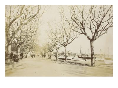 La promenade des Anglais à Nice--Giclee Print