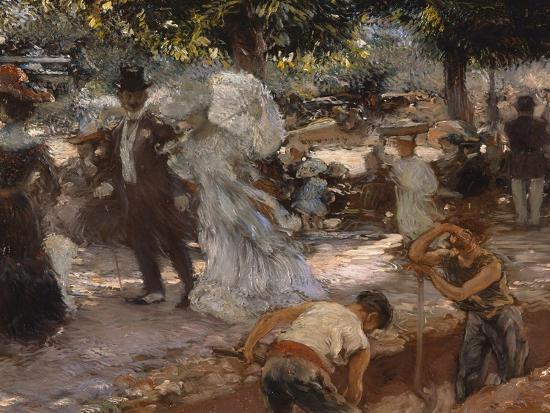 La Promenade-Gaston De Latouche-Giclee Print