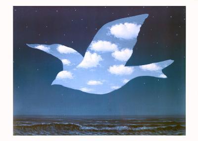 La Promesse-Rene Magritte-Art Print