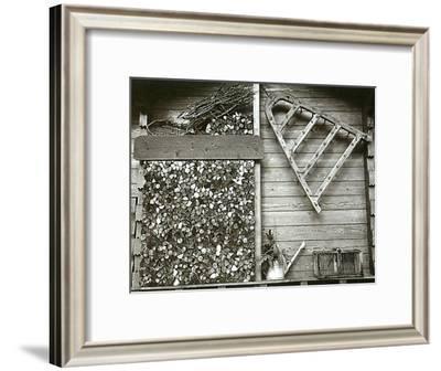 La Provision de Bois--Framed Art Print