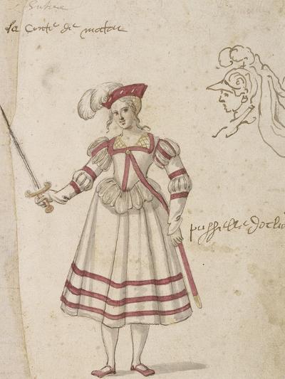 La pucelle d'Orléans-Jacques Bellange-Giclee Print