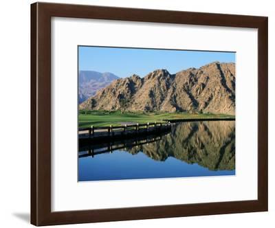 La Quinta Golf Course, California, USA--Framed Photographic Print