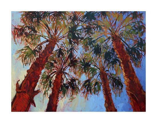 La Quinta Palms-Erin Hanson-Art Print