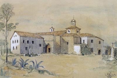 La Rabida Franciscan Monastery at Palos De La Frontera, Spain--Giclee Print