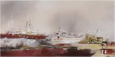 La Rade-Elisa Godefroid-Art Print