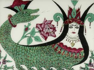 La reine des serpents Shahmaran